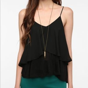 UO Sparkle & Fade | Double Layered Cami | Size S